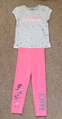 Little Girls 2 Piece Outfit From George Age 2-3 Years  New