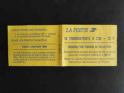 TIMBRES France Carnet 2629-C1 Marianne de Briat  NEUF**