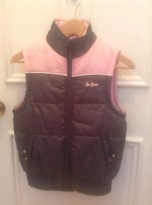Girl's Gilet / Sleeveless Jacket, New, Fits 33/34 Inches, 11-12 Years, Polyester