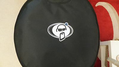 "Protection Racket Bass Kick Drum Case 20 "" x 16"" Bag As New"