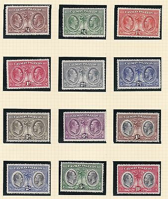 Cayman Islands 1932  S G  84 - 95  Set Of 12 To 10/-   V  L M H  Cat £550