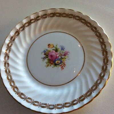 One Foley Vintage Collectable Bone China Sideplate - 'Sorrento'
