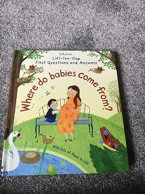 usborne book Where Do Baby's Come From