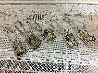 Hikaru no Go Metal Keychains Set of 5 Official Ship From Japan