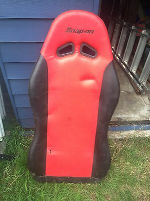 Snap On Creeper Laying Down Sparco Bucket Seat