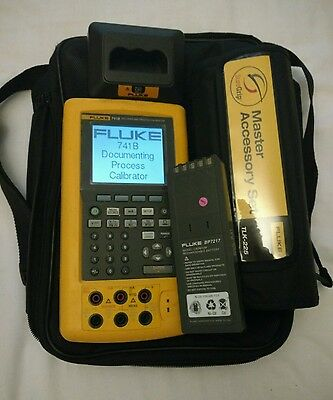 Fluke 741B Documenting / process / temperature / loop Calibrator