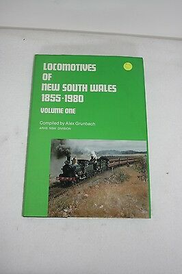 Locomotives of NSW 1855-1980 Volume One - Hard Cover