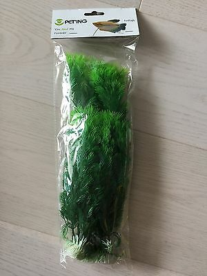 Decoration For Aquariums - Artificial Aquatic Plant 30Cm Pk2