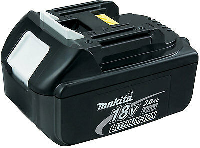 BATTERIA MAKITA BL1830 18V 3.0 Ah LITIO ORIGINALE
