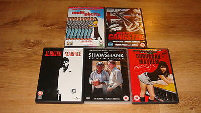 Bundle Of DVD's X 5 - STOCKING FILLERS