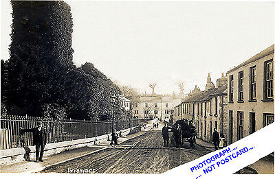 IVYBRIDGE- BLACHFORD ROAD , COAL DELIVERY TO OLD COTTAGES (EARLY 1900s) -DEVON.