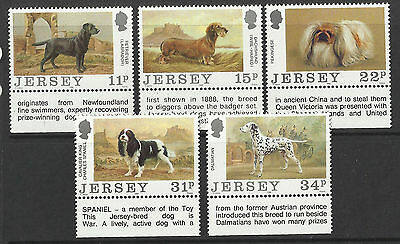 Jersey - Dogs - Cent of Jersey Dogs Club Set - 1988 - MNH