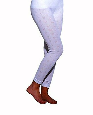 Pack of 2-Delux Wear Thermal Long Jane  Cotton mix  (White)( 2 pieces)