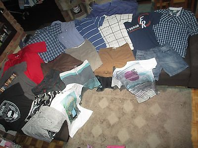 Bulk Lot Men's 38/X-Large summer clothes: Oakley/Quicksilver/JAG/Insight/Effekt