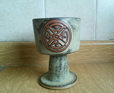 Tremar Stone Pottery Goblet, In Very Good Condition