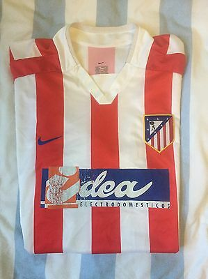 Rare Atletico Madrid 2002-03 Home Shirt - Size L