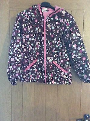 Hanna Andersson Girls Coat Age 11-12 Years