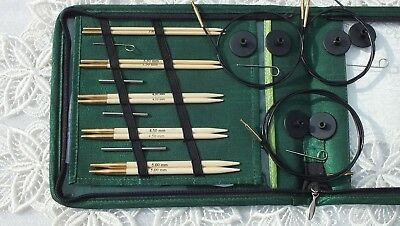 KnitPro interchangeable needle set Bamboo - STARTER AUD