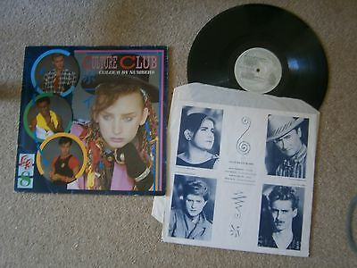Culture Club - Colour By Numbers - vinyl LP 1983