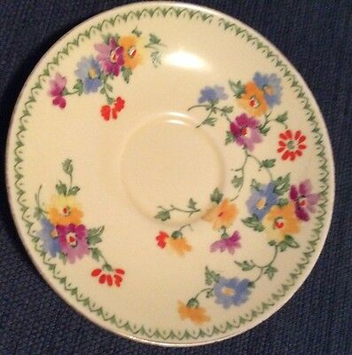 Crown Staffordshire Antique Collectable Saucer 'Made For Myers Melbourne'