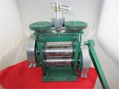 Size 123Mm Jewelry Machine With Roll Promotion!! Manual Jewelry Rolling Mill Z