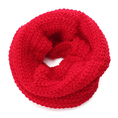 Baby Children Knitted Scarf Four Color Neck Warmer Wrap