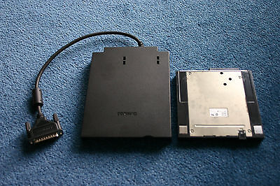 NEW Compaq MultiBay Slim Floppy Disk Drive FDD,Cable,Laptop,PC External+Internal