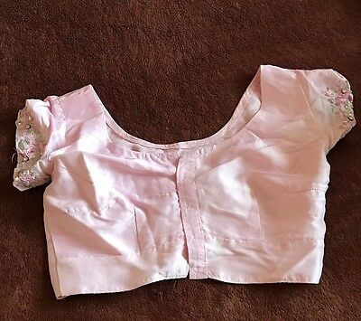 Baby Pink Saree Blouse