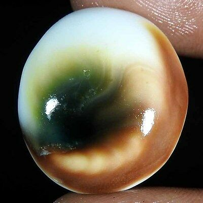 27.90Cts. 100% NATURAL DESIGNER SHIVA EYE OVAL CABOCHON GORGEOUS LOOSE GEMSTONES
