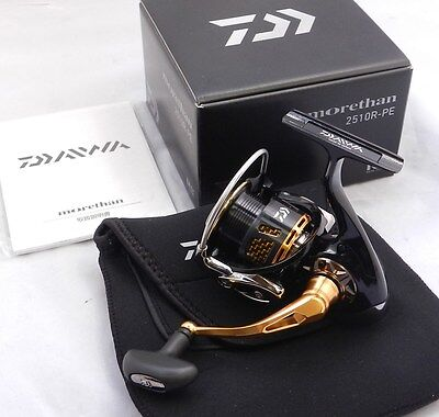 Daiwa MORETHAN 2510R-PE  Spinning Reel From Japan
