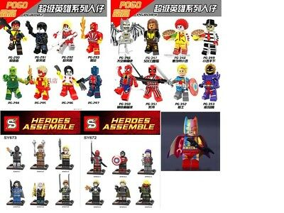 1204 Custom Super Heroes Minifigures - Rainbow Batman