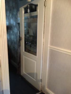 Used Internal Door With Glass 77x30
