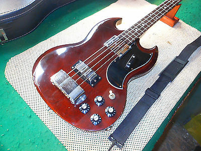 Vintage 1970's Ibanez EB-3 Electric Bass Made In Japan Lawsuit Era Great Bass