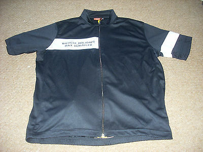 Mens Max Hurzeler Bicycle holidays cycling jersey xl,42 chest
