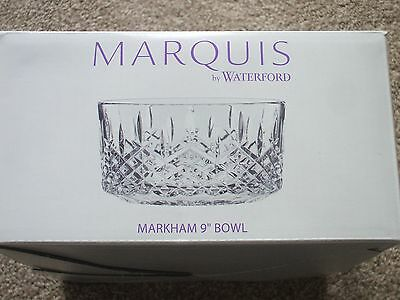 Marham Lead Cut Crystal Bowl 9 Inch Waterford