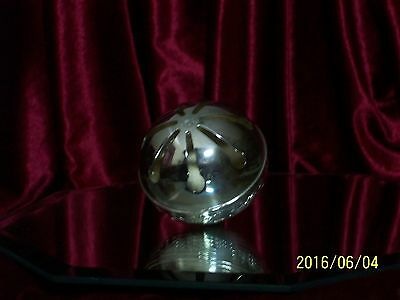 Vintage Silver Plated Sleigh Bell By Wallace 1981