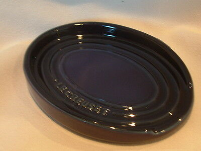 Le Creuset Oval Spoon Rest - Aubergine - New!