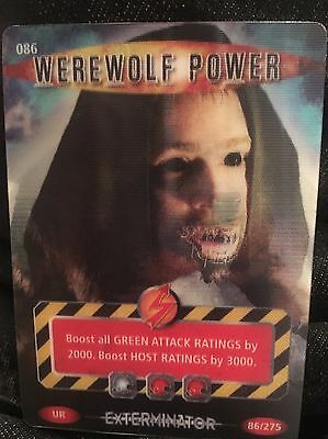 Doctor Who Werewolf Power Trading Card
