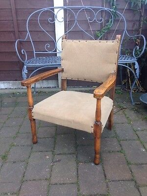 Vintage Antique Occasional Chair Bedroom Chair