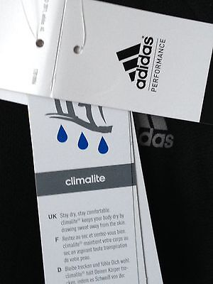ADIDAS New Running Top In Black Size XL