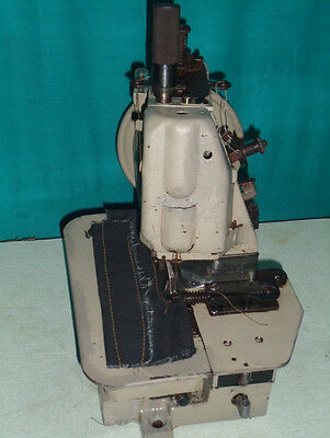Rare Union Special 43200 style EdgeLock Walking Foot Single Needle Chain Stitch