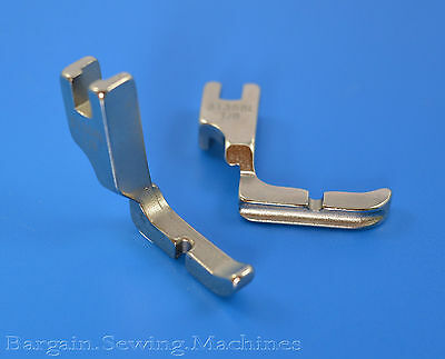 "LEFT Cording & RIGHT Piping foot COMBO 31358L 1/8"" Industrial Sewing Machine"