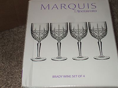 Waterford Brady Wine Glasses X 4