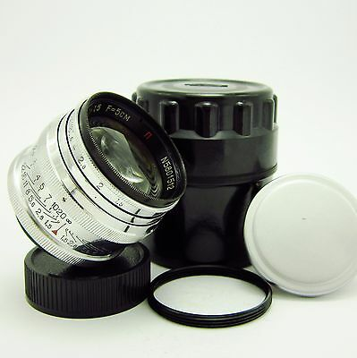 JUPITER-3 f1.5/50mm --RED P-- Made in USSR-1958 year №5801512