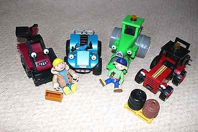 Bob the builder and a range of vehicles