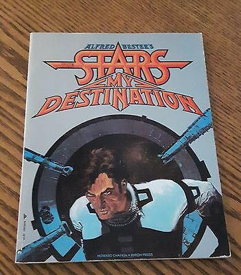 The Stars My Destination Graphic Novel Alfred Bester 1979 VF+