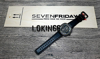 Brand New Authentic Sevenfriday P2/02 Watch Swiss Automatic Seven Friday