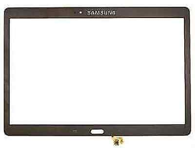 GENUINE Samsung Galaxy Tab S 10.5 SM-T800 T805 Touch screen Glass Lens Bronze UK
