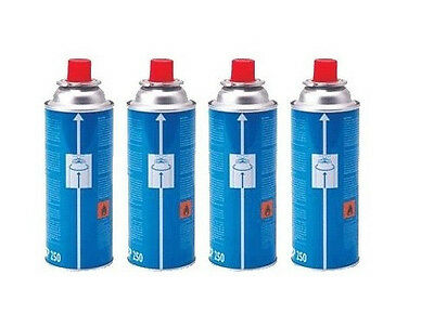 4, 8, 12, and 28 Pack Campingaz CP250 Butane Gas Cannisters