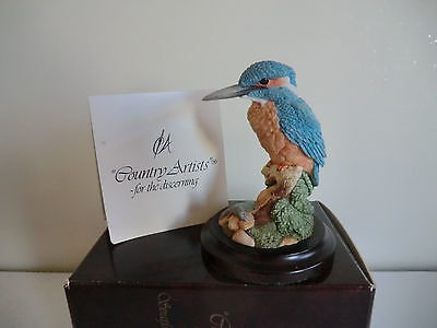 Country Artists Jewel In The River Kingfisher / Bird Ornament - Boxed